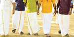 Tamils traditional dhoti Day today