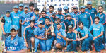 India won ODI tri-series U-19 Championship: carparas Khan Man of the match