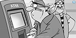 Police negligence Venture back to the center to try the ATM robbery