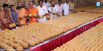 In addition to 2 laddu's for the devotees in tirupathi temple from tomorrow