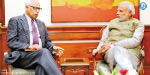 Flood Relief for Modi At the Prime Minister of Kashmir Meeting with Governor Vohra