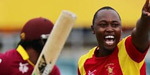 Warning to Satara for bowled beemer to Chris Gayle