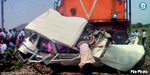 Tragedy on the vehicle collided with a train in Haryana 12 killed in the same family