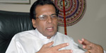 Sirisena charge about there was a plot to prevent me as president