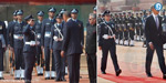 Woman officer leads guard of honour for Obama