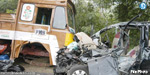Car crashed into a truck hits the Madras Engineer killed