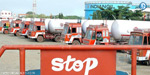 Gas tanker lorry strike ext: Cylinder supplies affected