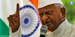 Anna Hazare to launch fresh agitation on Lokpal issue; Criticizes Centre for its failure to bring back Black Money