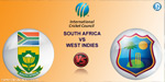 South Africa, West Indies  5 th Odi match
