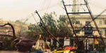 sudden rain at nellai and kaniya kumari : electrical posts was felled on schools