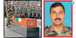 Upon the death of the terrorist attack on the heroic Indian Military funeral emenray