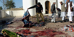 sikarppur of Pakistan in the suicide bombing kills 12