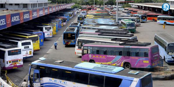 Almost 7,000 buses in operation in Chennai