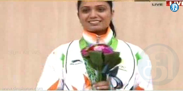 The first medal for India in the Asian Games competition