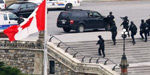 Canada's parliament attacked, soldier fatally shot nearby