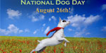 Thank you to say dog - National dog day August 26
