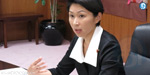 Japanese woman minister resigned her post, who spent money for her own makeup