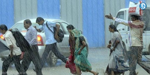 Tamil Nadu, in the inner districts as heavy rain falls again in the next 24 hours, the meteorological warning.