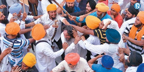 The conflict between Sikh organizations in Amritsar