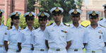 Engineering graduates work in the navy officer