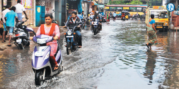 Mystery fever spreads sewage mixed with rain, floods