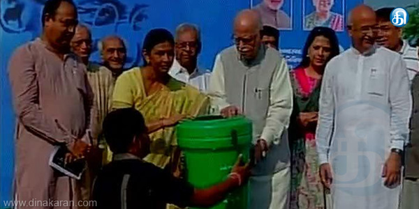 Advani's speech we haven't seen no one like as Vajpay for prime minister