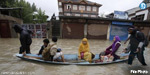 Lonely Rs.1.5 million to recover the families from trapped in floods in Kashmir