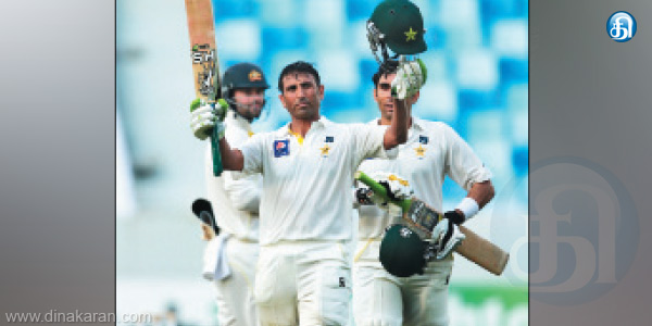 Century from Younis to score the Honorary Bach.