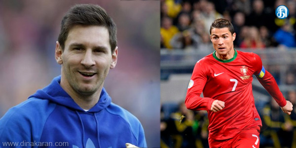 Messi is the best player award, beating Ronaldo