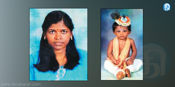 Child killed by his pregnant mother herself suicide hanging