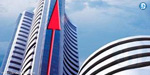 Sensex hiked: The BSE Sensex touched 27 thousand
