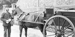 Postal Delivery of the horse cart