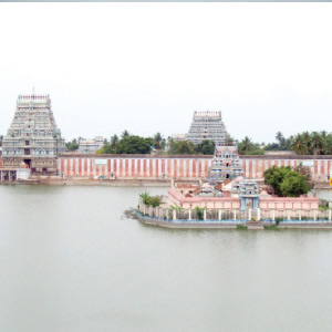 Theertham given by Thiruvarur gold