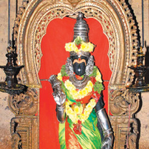 Paddy fields and keeping the goddess Parvati