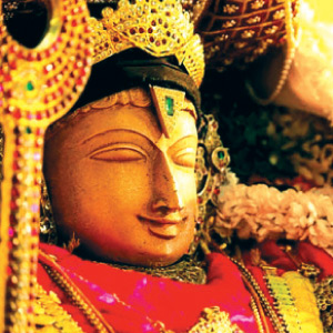 The saint who listens to the Ramayana