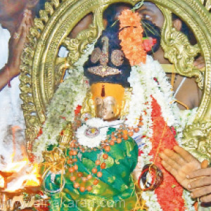 Exotic Baby Shower Ceremony at Nellaiyappar Temple