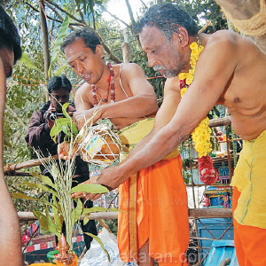 Kodaikanal in the next farm is the great Kumbabhishek festival in the Kali Kali temple