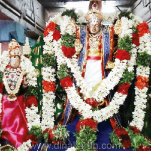 Manamadurai Veerasalakar Temple is celebrated in the Audi festival