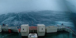 The stomach-lurching moment ship's crew faced terrifying 100-foot wave during North Sea storm