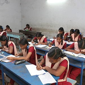 10th Class Half Yearly Exams started