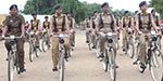 250 cycles has been given to police for supervision in an event