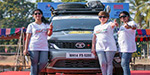 Three Indian women embark on a 70-day road trip from Coimbatore to London to promote literacy, women empowerment