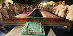 Chinmoy's followers set record by lighting 72,000 candles