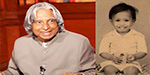 Dr. Abdul Kalam  from an early age to dying snap photos