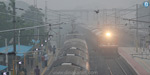 Heavy snow haze surrounding Chennai and suburbs: flights canceled, motorists suffer
