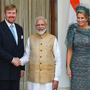 DutchKingIndiaVisit