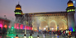 Milad un colored lights shone in the various countries of the world in honor of the Prophet of Islam!