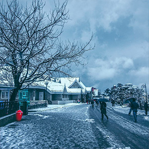 FirstSnowFallShimla