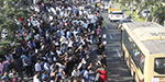 Chennai Tharamani thousands of IT workers, students protest