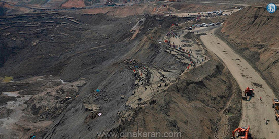 More than 50 feared dead after landslide at Myanmar jade mine
